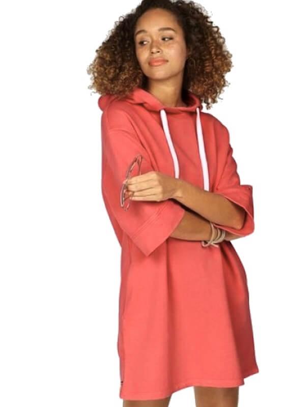 Mikinové šaty Tommy Hilfiger Garment Dye Dress