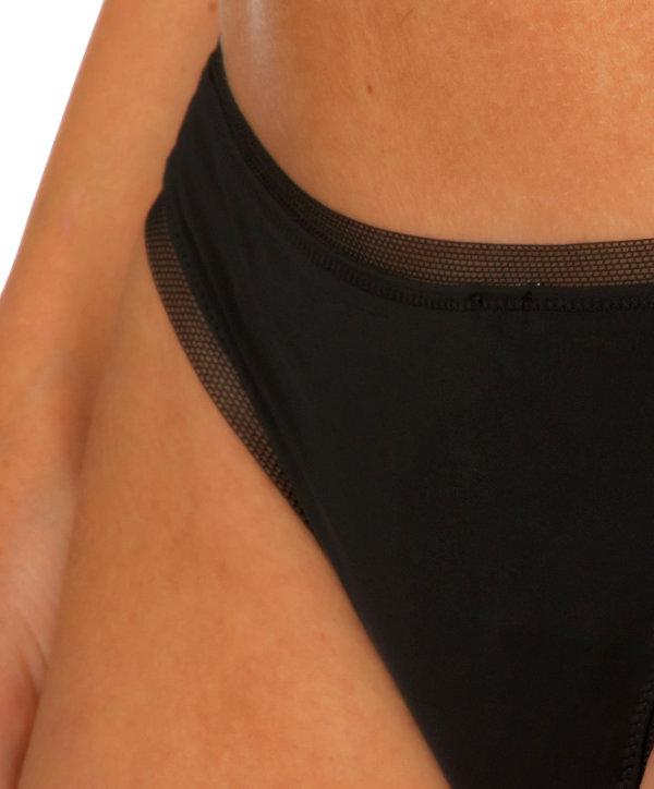 Calvin Klein tanga nohavičky Sculpted Thong čierna
