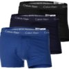 Calvin Klein 3 Pack boxerky Low Rise Trunk tricolor 4KU