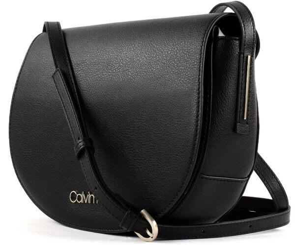 Dámska kabelka Calvin Klein Frame Med Saddle Bag
