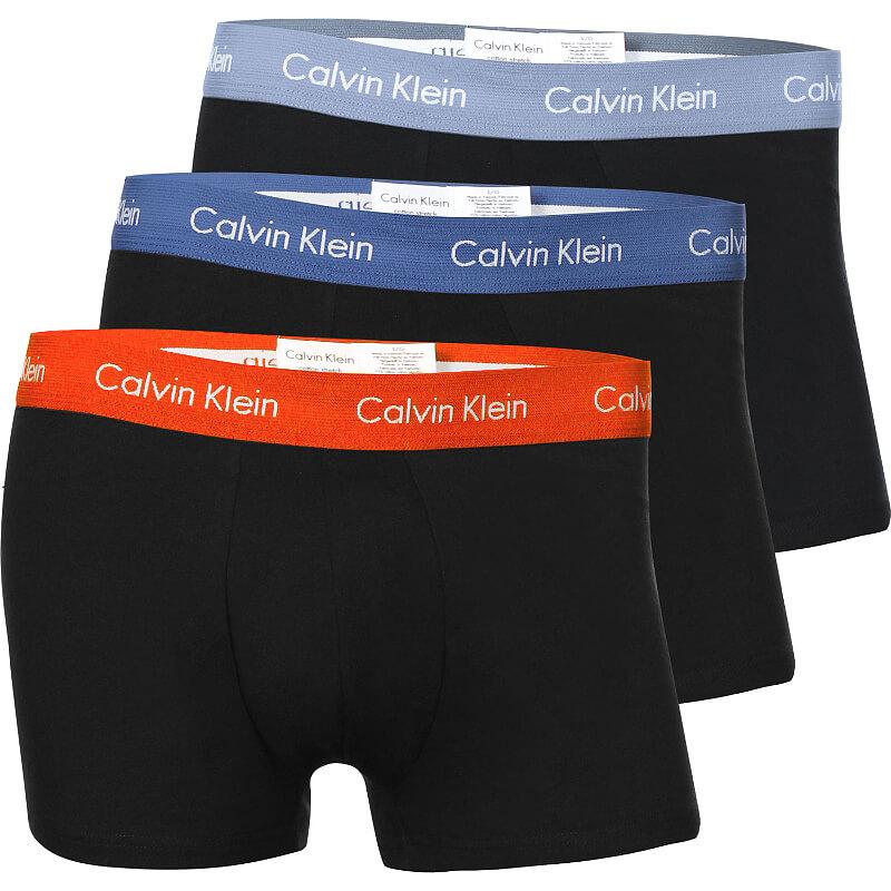 Calvin Klein boxerky 3 pack U2664G RGW spodné prádlo