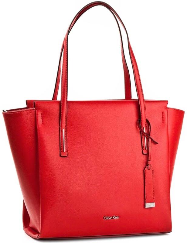 Calvin Klein kabelka červená