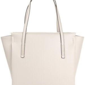 Kabelka Calvin Klein Frame Large Shopper krémová