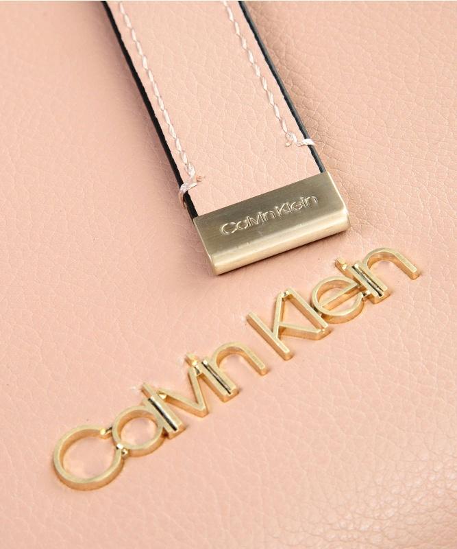 Calvin Klein kabelka Frame Large Shopper púdrová  aa71cc4fd84
