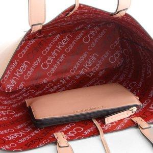 Calvin Klein dámska kabelka Inside Out Large Shopper 3v1 púdrová