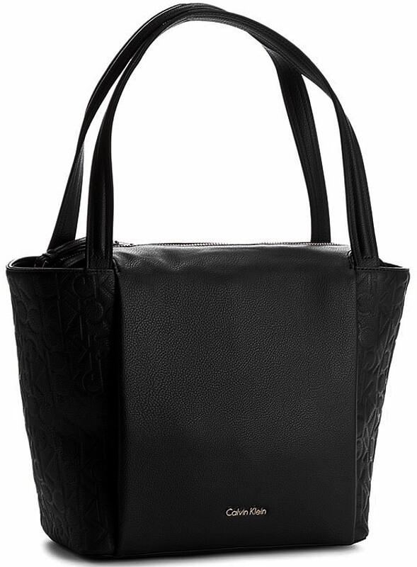 Dámska kabelka Calvin Klein Mish4 Medium Tote čierna