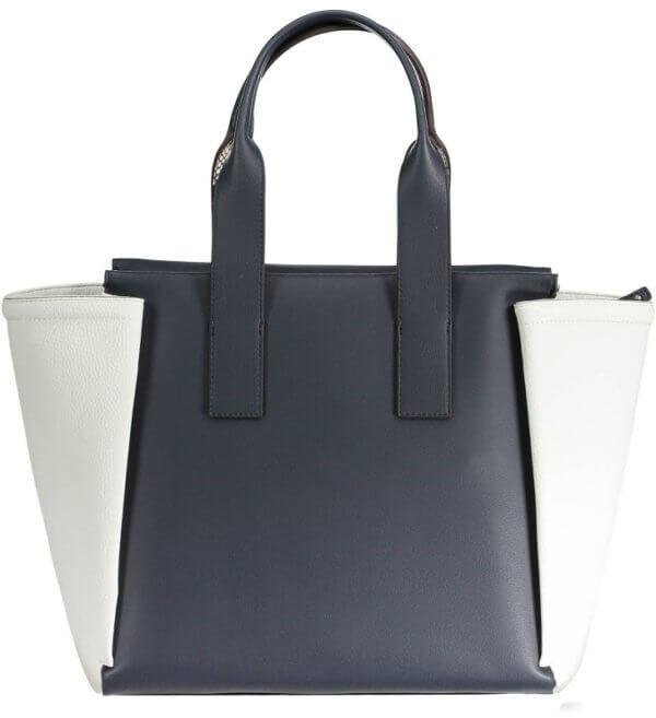 Dámska kabelka Calvin Klein Tr4cy Large Tote modrá