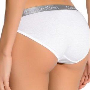Calvin Klein nohavičky Radiant Cotton Bikini biele