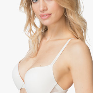 Calvin Klein podprsenka Sculpted Push-Up Bra Ivory