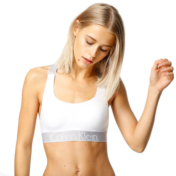 Calvin Klein podprsenka Bralette Unlined Customized Stretch