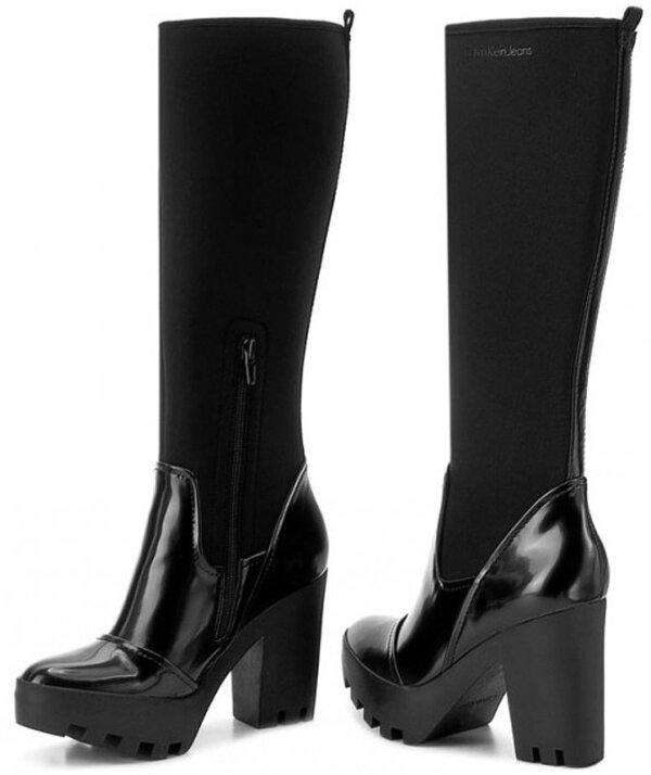 Dámske čižmy Calvin Klein Jeans Sintra black