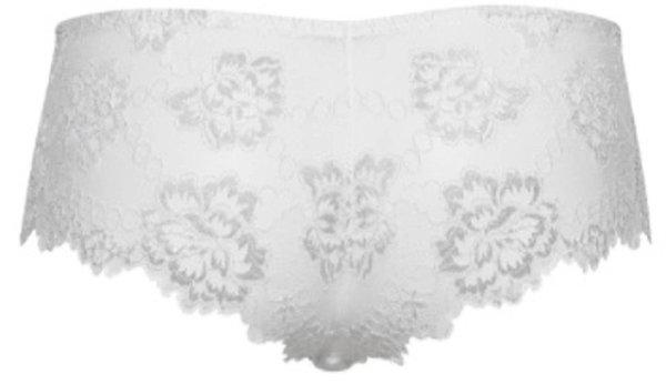 LORMAR Deluxe nohavičky šortky biela