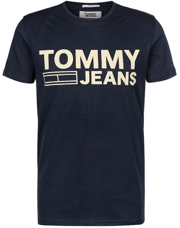 Tommy Hilfiger pánske tričko TJM Basic CN T-Shirt S/S 37 modré