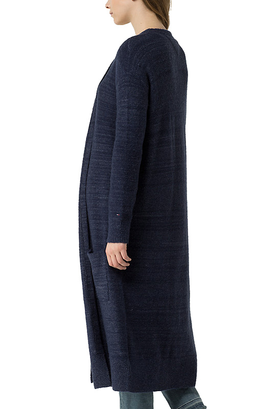 Tommy Hilfiger Denim pletený dlhý kardigán