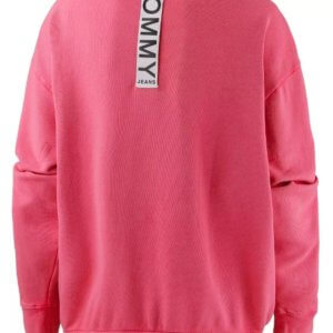 Tommy Hilfiger Jeans dámska mikina Oversize ružová
