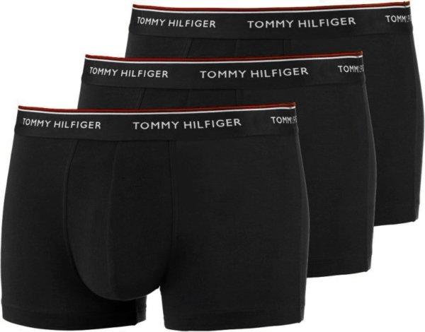 Tommy Hilfiger boxerky 3 Pack Low Rise Trunk čierne 990