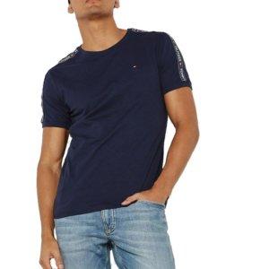 Tommy Hilfiger pánske tričko Authentic RN Tee SS modré 416