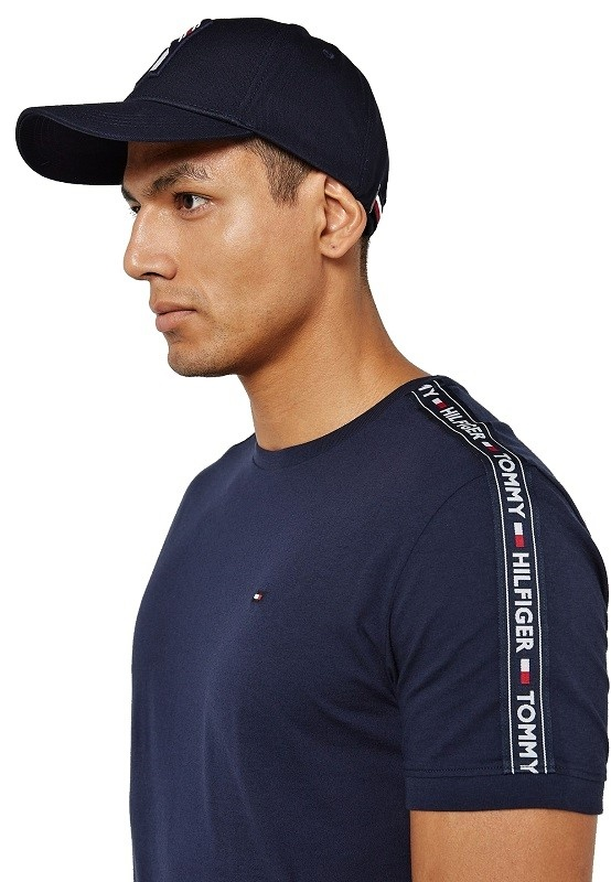 Tommy Hilfiger tričko Authentic RN Tee SS modré 416