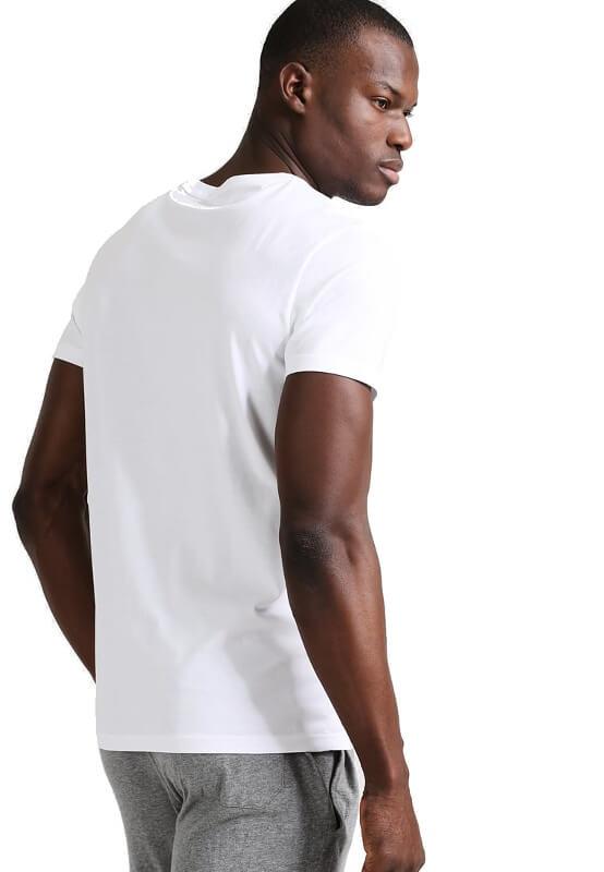 Pánske tričko Tommy Hilfiger Icon SS Tee Logo biele 100 0