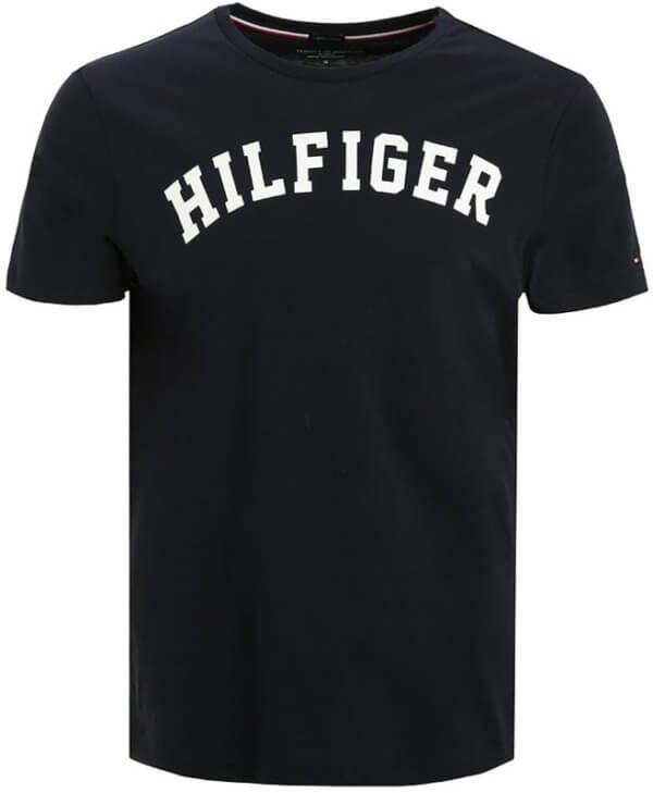 Tommy Hilfiger tričko pánske Icon SS Tee Logo modré 416