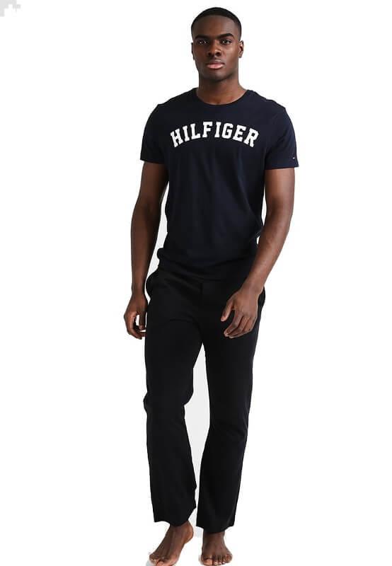 ánske tričko Tommy Hilfiger Icon SS Tee Logo modré