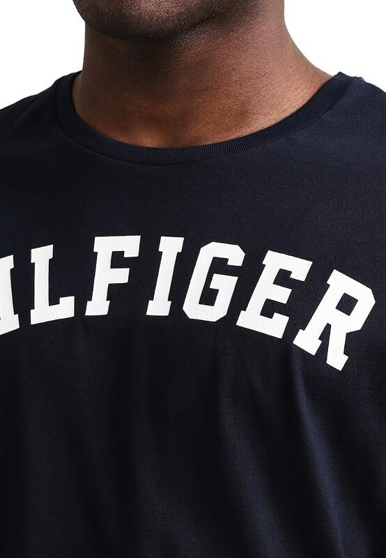Pánske tričko Tommy Hilfiger Icon SS Tee Logo modré 416