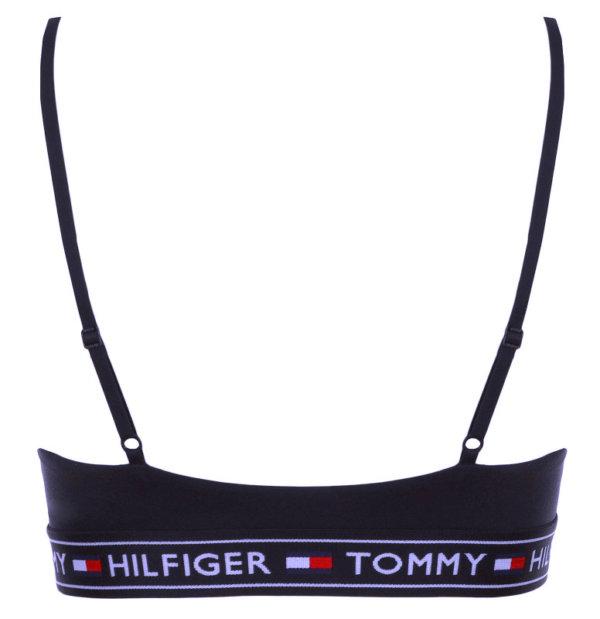 Tommy Hilfiger športová podprsenka Auth. Micro Triangle Bralette modrá 416
