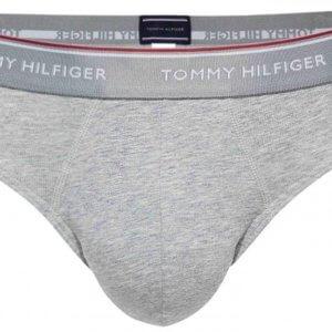 Tommy Hilfiger 3Pack Brief Premium Essentials slipy šedé