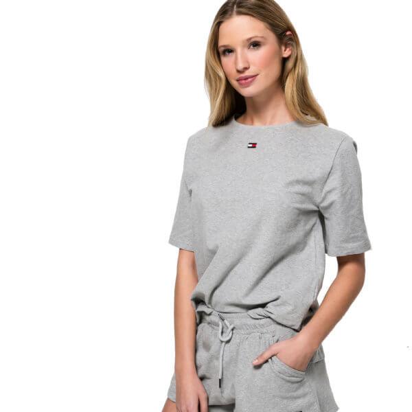 Tommy Hilfiger tričko BN Tee Half šedé