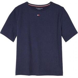 Tommy Hilfiger tričko BN Tee Half modré  a6add71f4e7