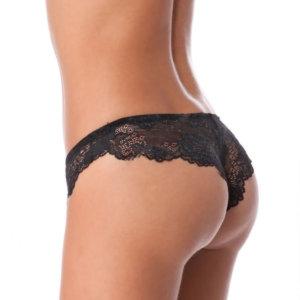 Lormar nohavičky brazilky Prestige Bras. čierna