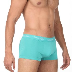 Calvin Klein boxerky 3 Pack Low Rise Trunk