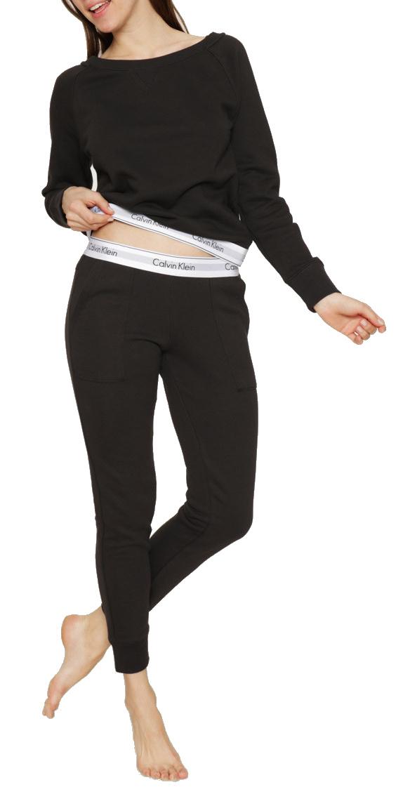 Calvin Klein mikina a tepláky čierne