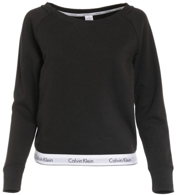 Dámska mikina Calvin Klein čierna