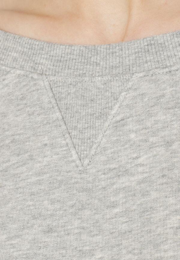 Calvin Klein mikina šedá detail