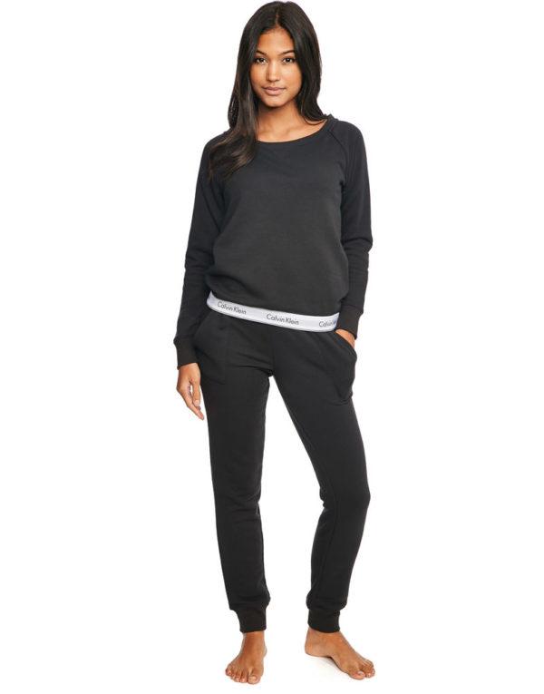 Calvin Klein mikina čierna