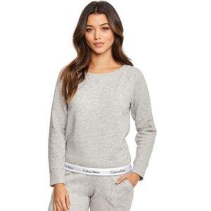 Dámska mikina Calvin Klein Sweatshirt šedá