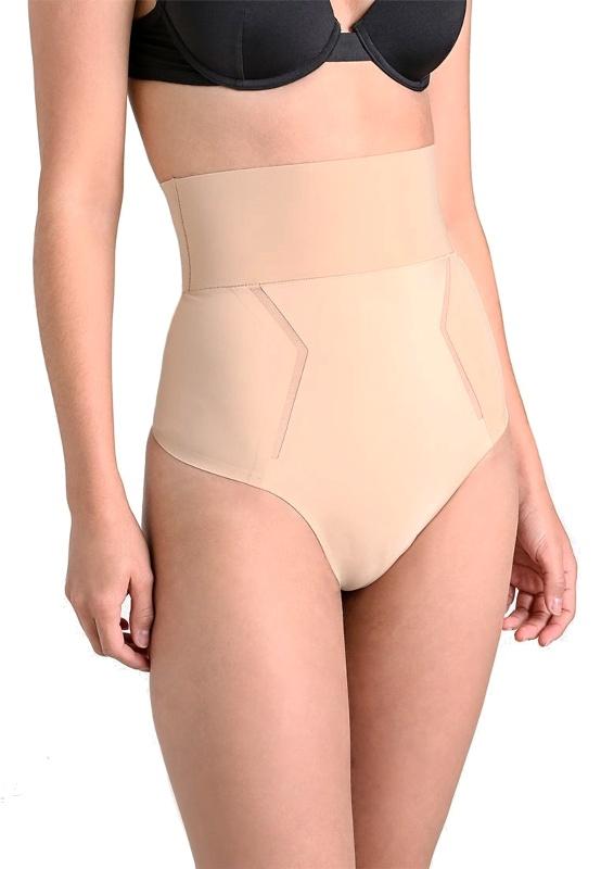 6dbdba2196 Calvin Klein sťahujúce tanga Sculpted Shapewear High Waist telová ...
