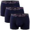 Tommy Hilfiger boxerky 3pack Premium Essentials Trunk modré
