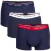 Tommy Hilfiger boxerky 3pack Premium Essentials Trunk modrá/tricolor