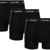 Calvin Klein boxerky 3pack Trunks Cotton Stretch XWB