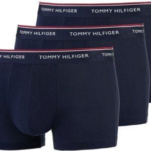 Tommy Hilfiger boxerky 3pack Low Rise Trunk Premium Ess. modrá