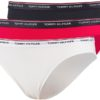 Tommy Hilfiger 3 pack nohavičky Essentials 3P Bikini tricolor