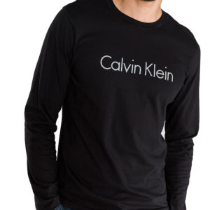 Calvin Klein pánske tričko Comfort Cotton L/S Crew Neck NM1345E 001