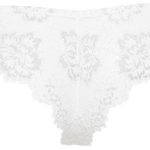 LORMAR nohavičky brazilky Prestige Bras. biela