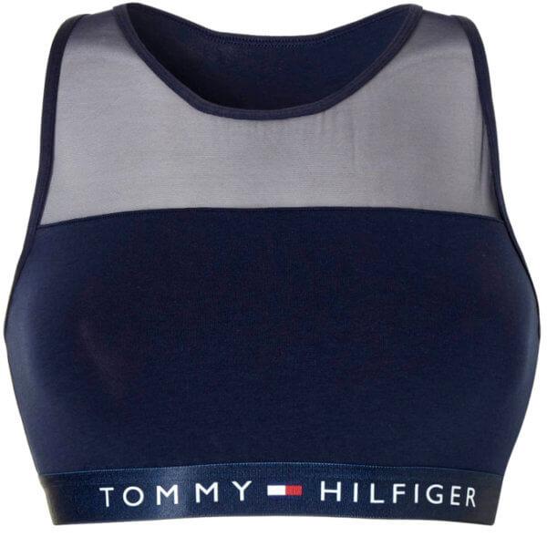 Tommy Hilfiger podprsenka Sheer Flex Bralette navy