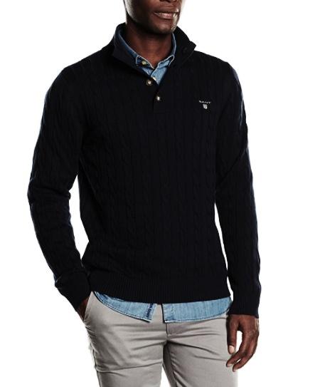 770ecb0e39 Pánsky sveter GANT black