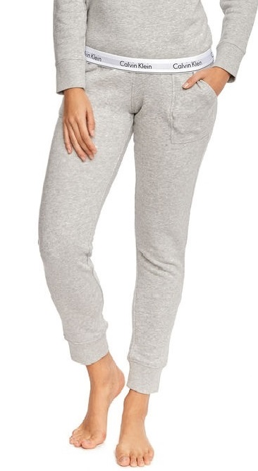 c1010b456f Tepláky Calvin Klein Bottom Pant Jogger šedá