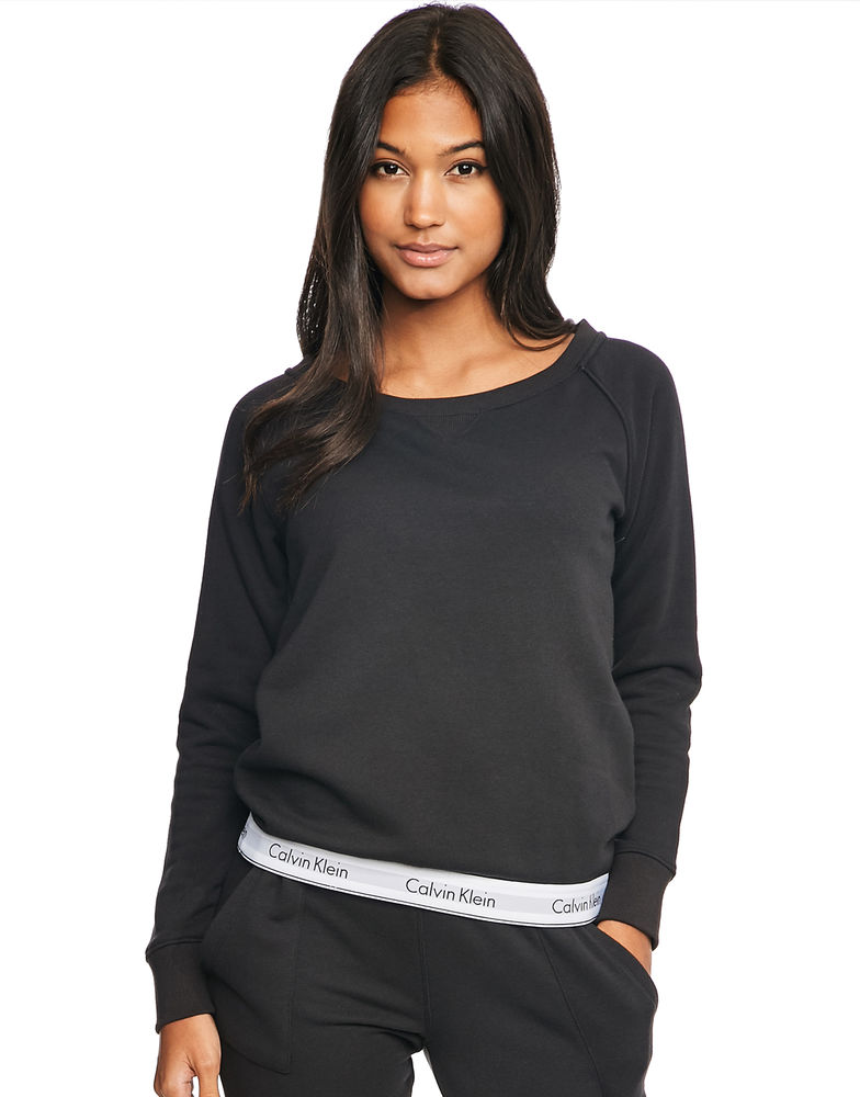 Calvin Klein dámska mikina Sweatshirt čierna