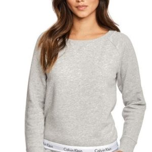 Calvin Klein dámska mikina Sweatshirt šedá